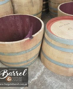Bargain Barrel Wine Barrel Furniture Sales – Half Wine Barrel Image 2