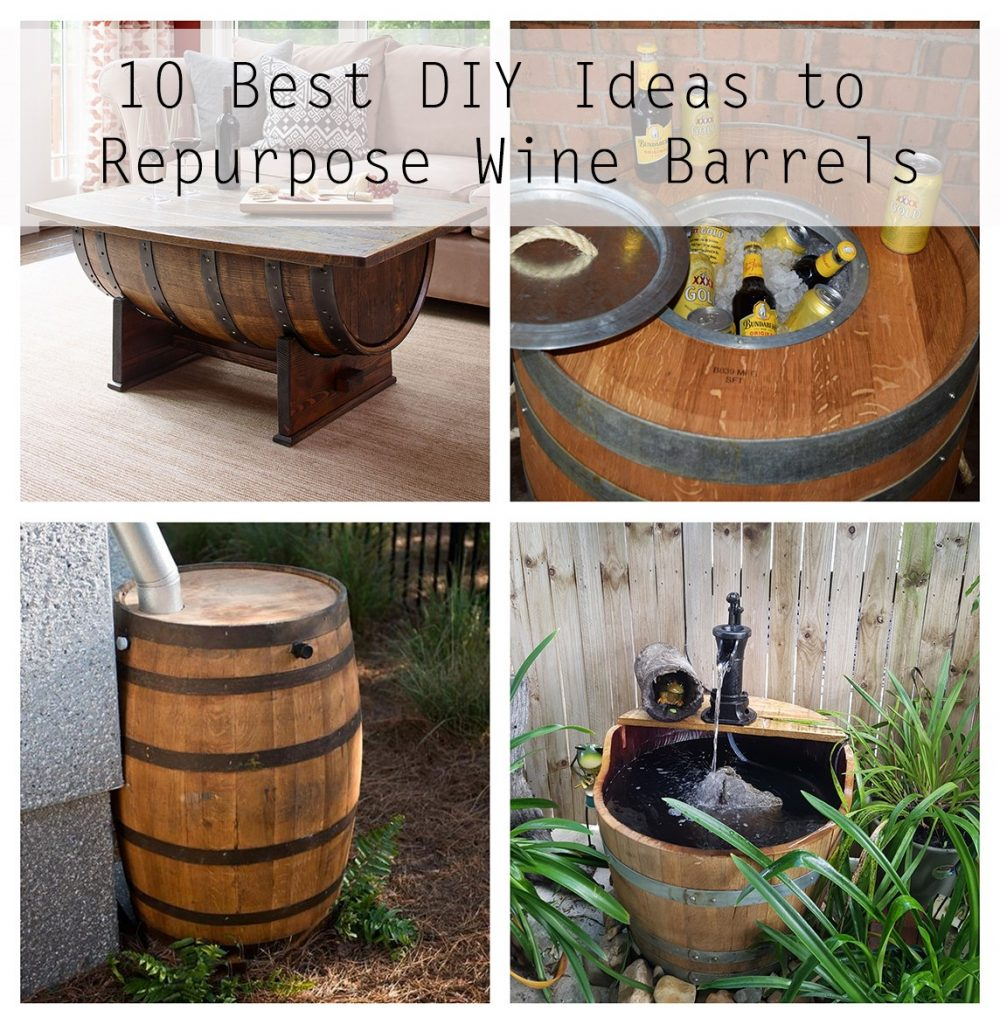 Wine Barrel Ideas